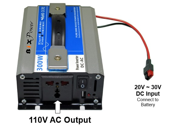 XP330 AC Power Pack -336 Watt-hour Battery with 110V 300W