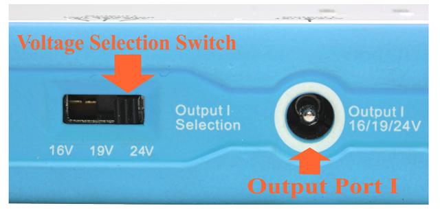 BP100 High Capacity (96 Wh) Multi Output Voltages ( 5v/11v/16v/19v/24v)  Battery Power Pack