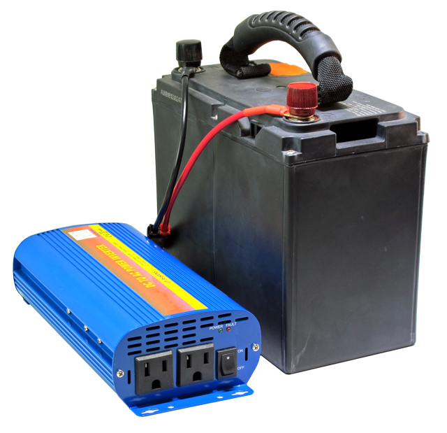 XP1600 AC Power Pack- 1044 Watt-hour Battery with 600W Pure Sine 110V AC  Power Inverter
