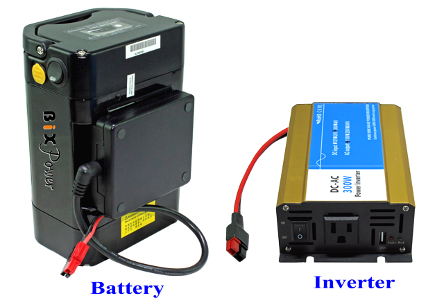 XP430 AC Power Pack - 110V 300W Pure Sine AC Power Inverter with 418Wh  Light Weight Rechargeable Battery