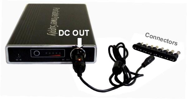 2 way DC power bank 12 Volt DC Socket