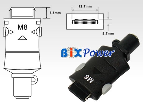 Connector Plug Tip - M8